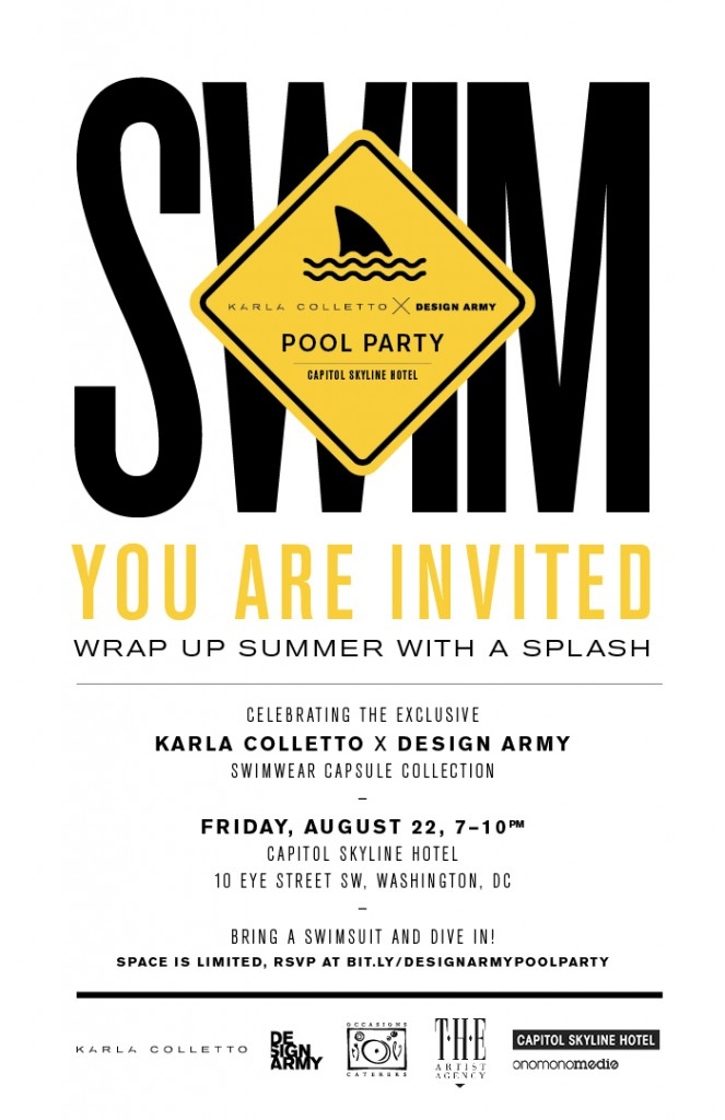 KCxDA pool party invite