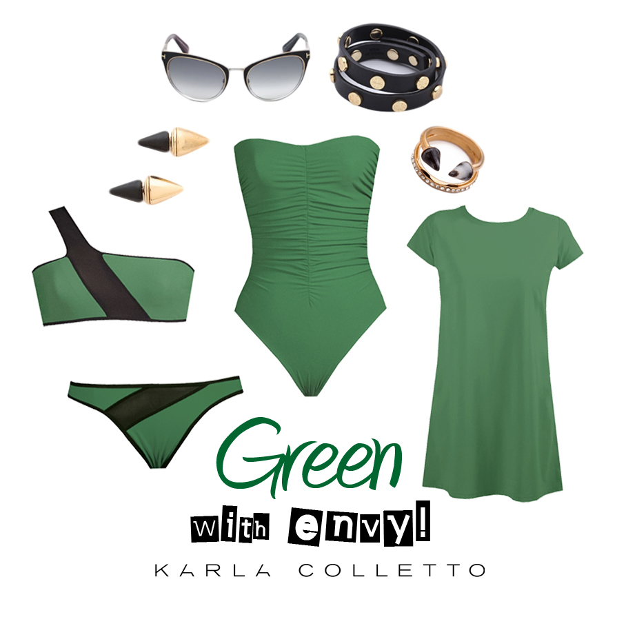 St. Patty's Day inspired looks from Karla Colletto