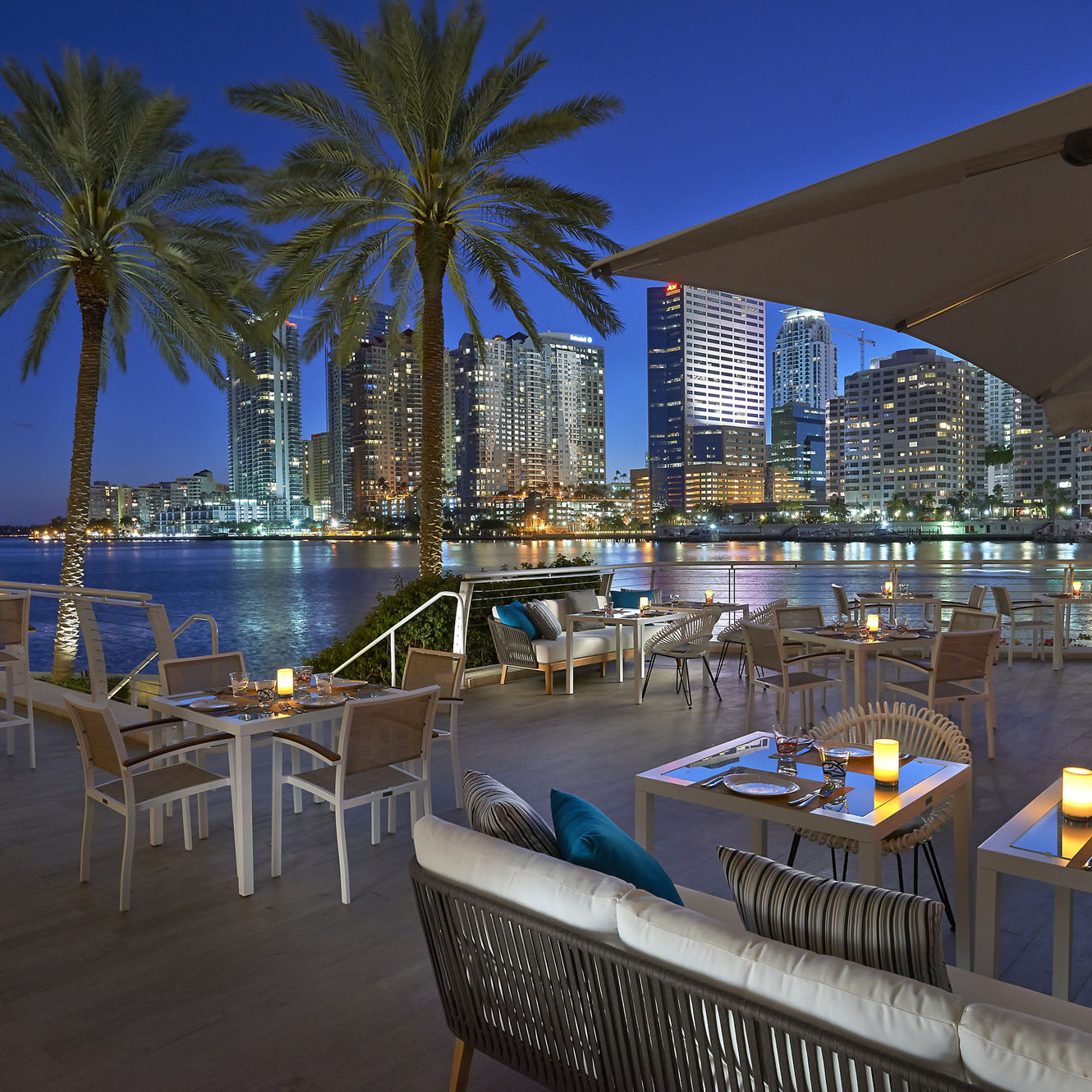 Mandarin Oriental Miami Beach La Mar Terrace
