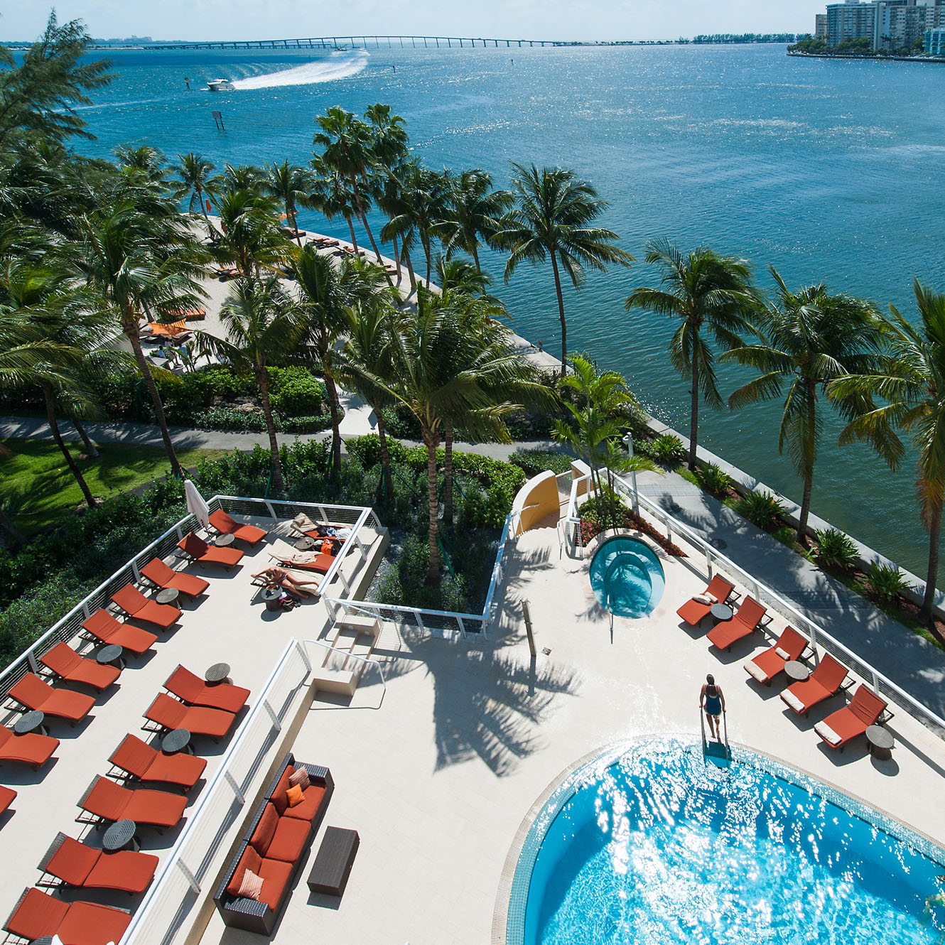 Mandarin Oriental Miami Beach Oasis Pool and Beach Club