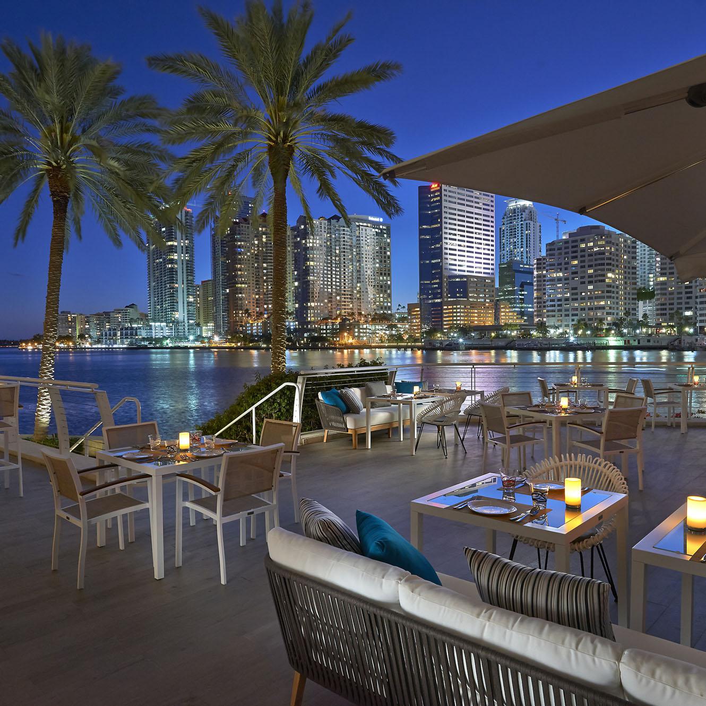 Mandarin Oriental Miami Beach La Mar Terrace