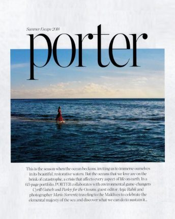 Porter Magazine Summer Escape 2018